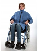 Adaptive coat for wheelchair users